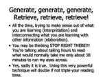 generate generate generate retrieve retrieve retrieve65