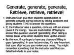 generate generate generate retrieve retrieve retrieve67