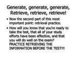 generate generate generate retrieve retrieve retrieve68