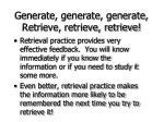 generate generate generate retrieve retrieve retrieve69