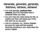 generate generate generate retrieve retrieve retrieve72