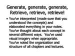generate generate generate retrieve retrieve retrieve75