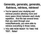 generate generate generate retrieve retrieve retrieve76