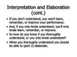 interpretation and elaboration cont24