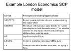 example london economics scp model32