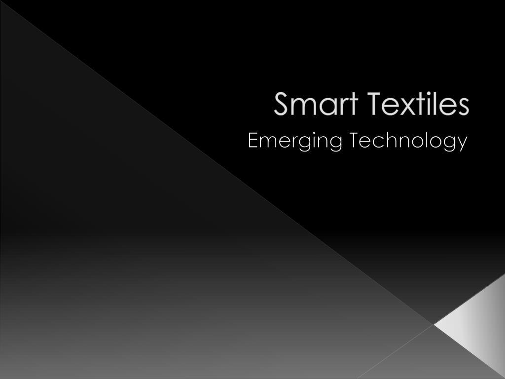 smart textiles l.