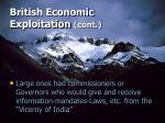british economic exploitation cont16