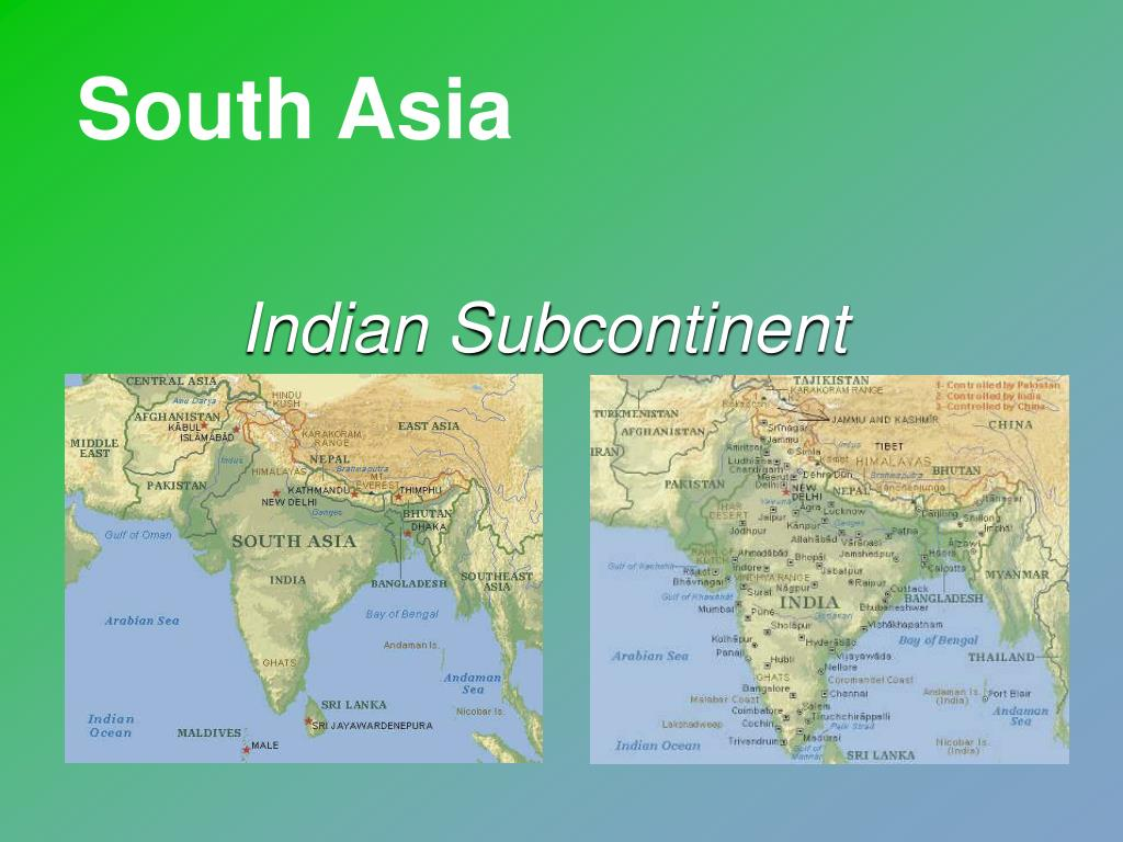 indian subcontinent l.