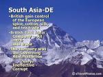 south asia de