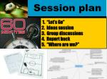 session plan