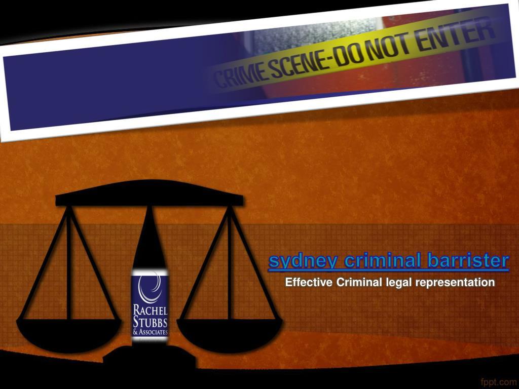 sydney criminal barrister l.