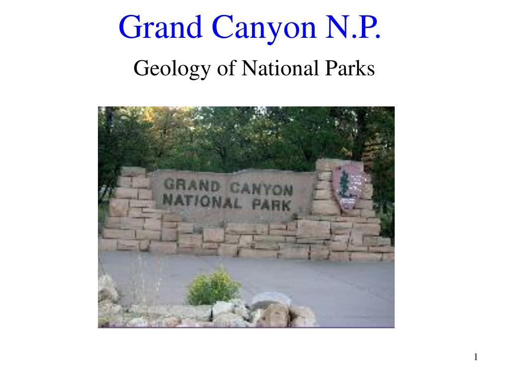 grand canyon n p l.
