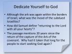 dedicate yourself to god6