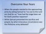 overcome your fears12