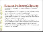 firearm evidence collection22