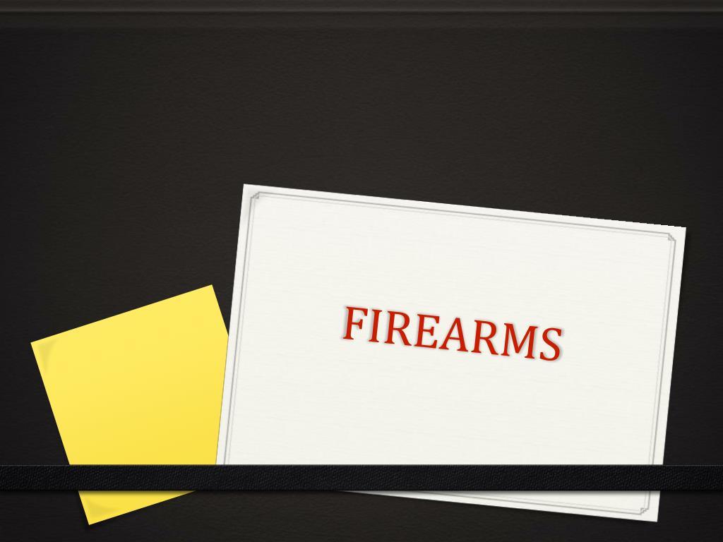 firearms l.
