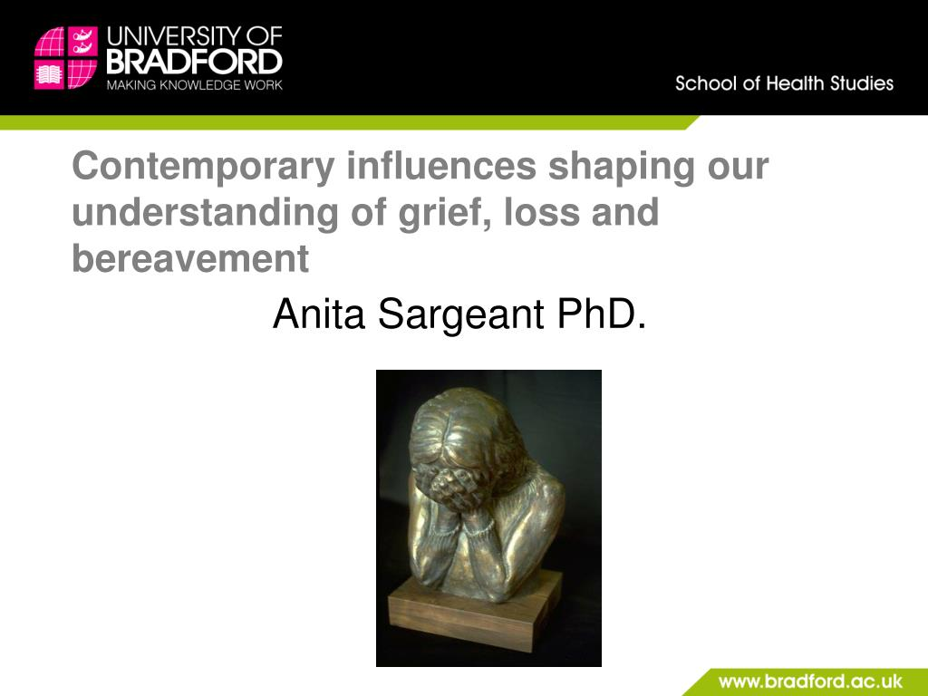 contemporary influences shaping our understanding of grief loss and bereavement l.