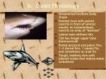 b outer physiology
