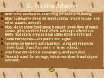 e feeding behavior