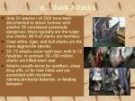 e shark attacks