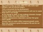 h growth