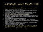 landscape taieri mouth 1930