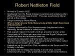 robert nettleton field