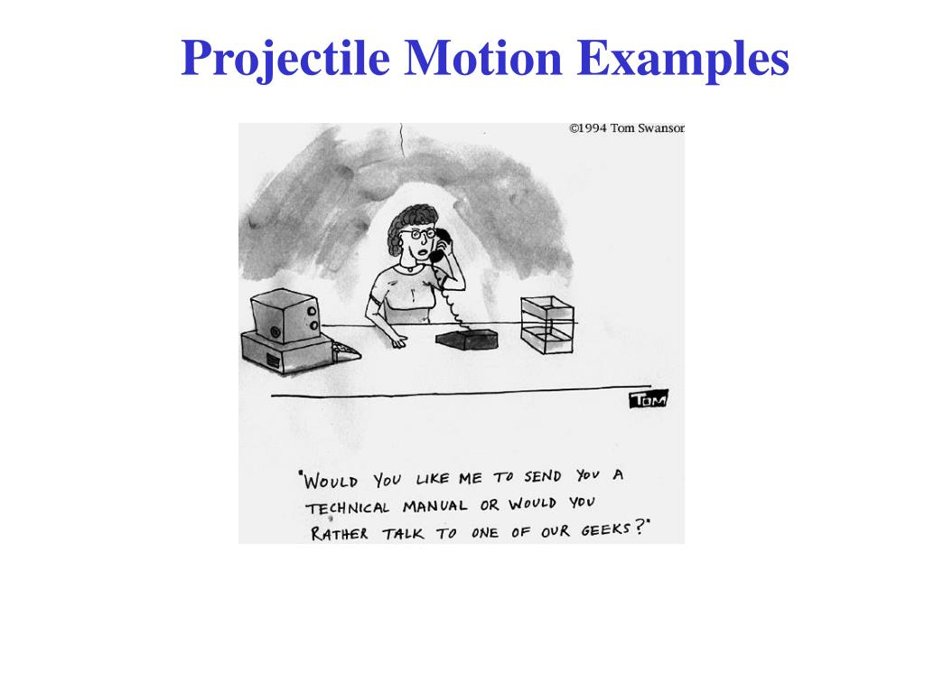 projectile motion examples l.