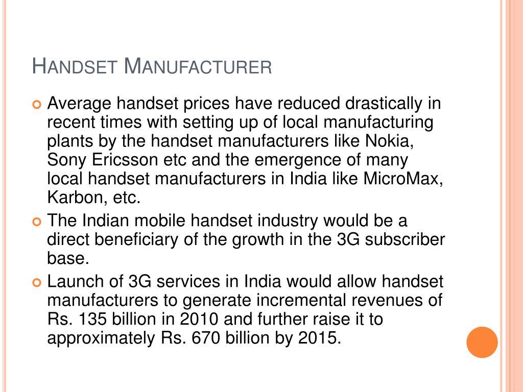 Handset Manufacturer