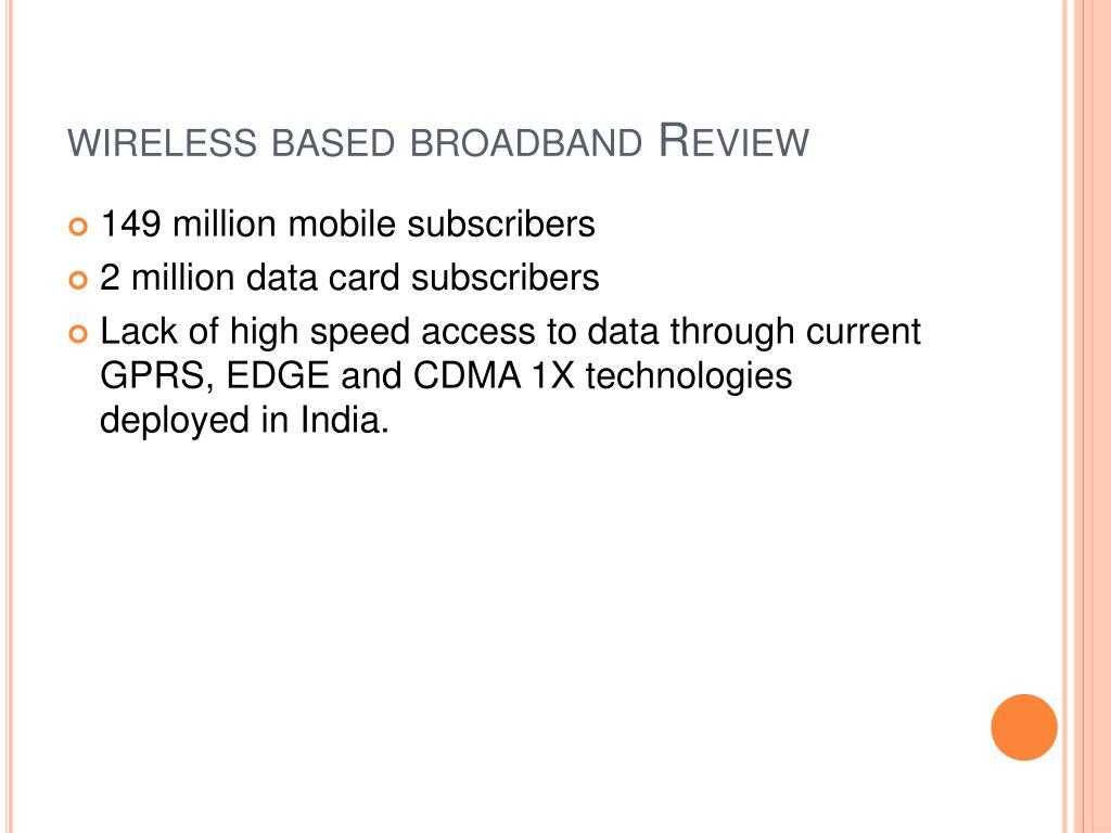 wireless based