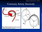 coronary artery anomaly