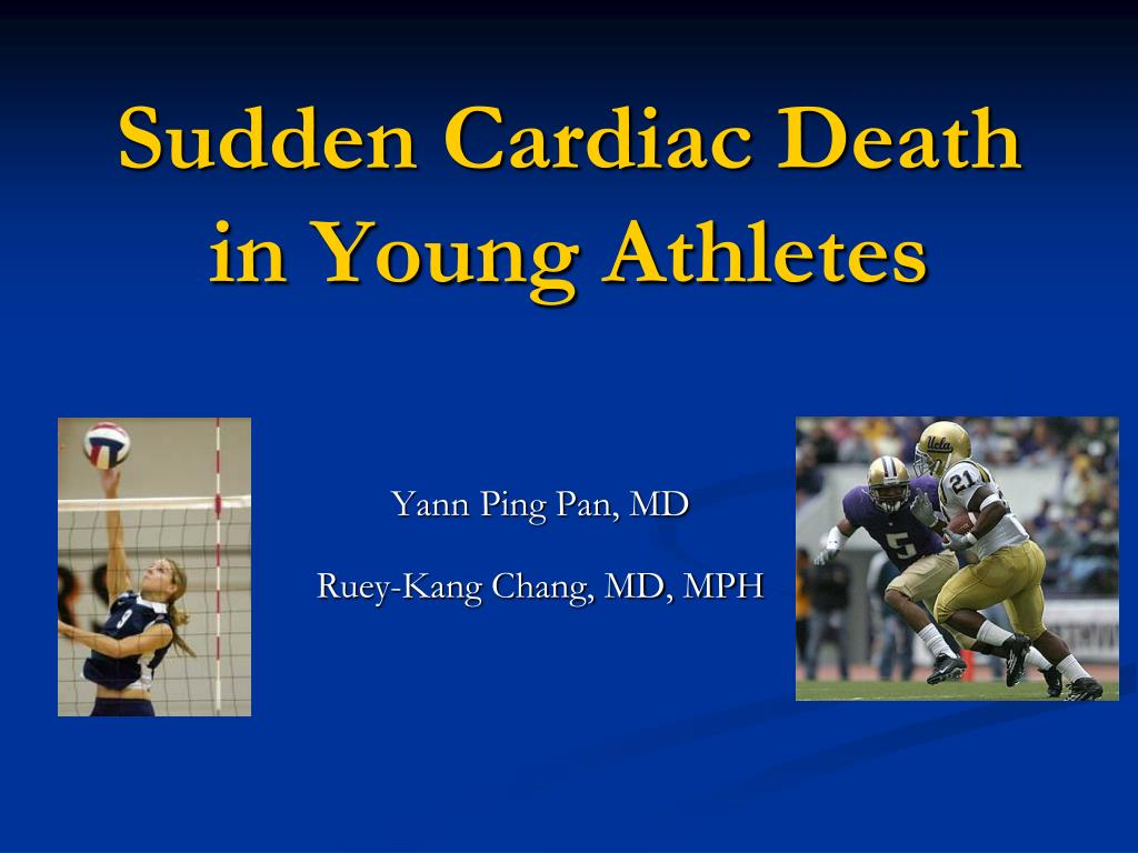 sudden cardiac death in young athletes l.