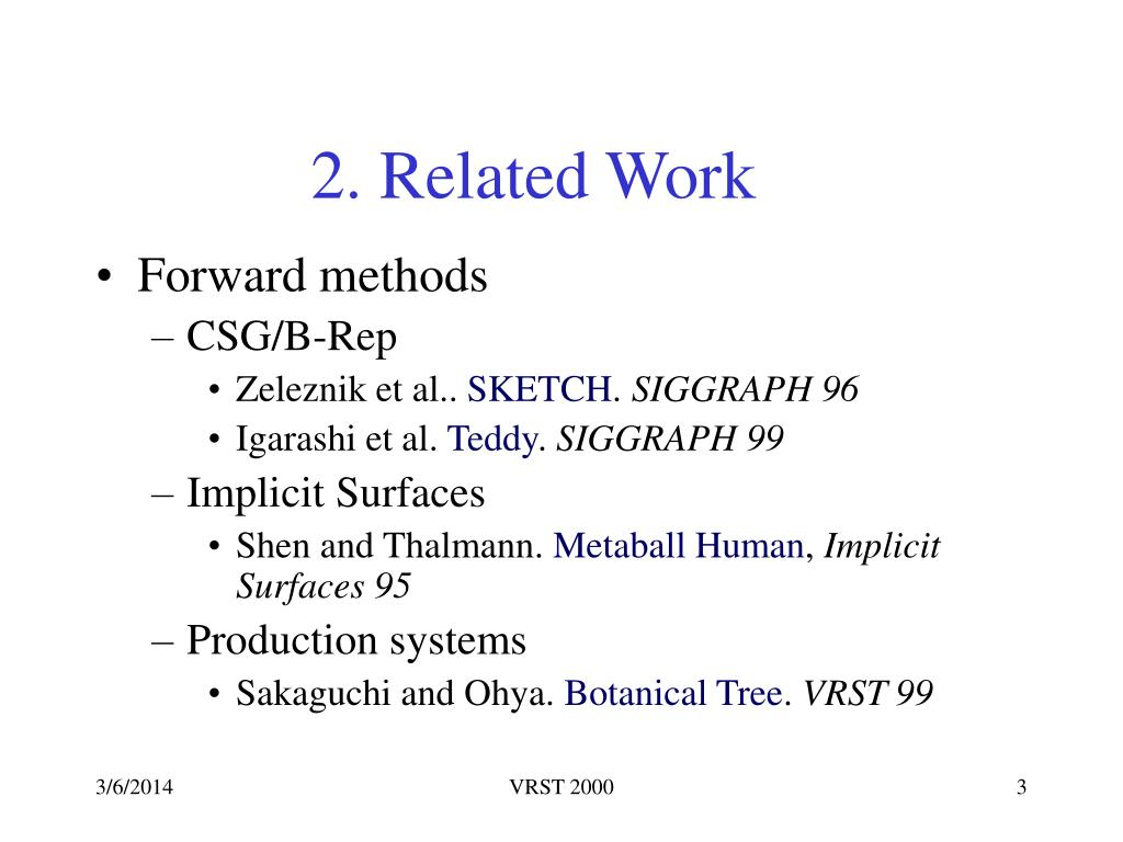 2. Related Work