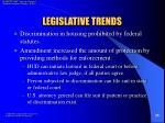 legislative trends