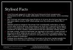stylised facts7
