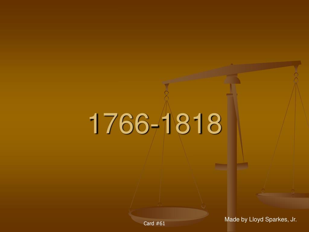 1766 1818 l.