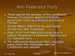anti federalist party65