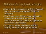 battles of concord and lexington23