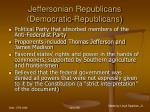 jeffersonian republicans democratic republicans73