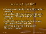 judiciary act of 180195