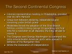 the second continental congress25