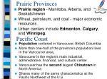 prairie provinces