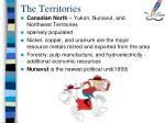the territories