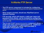 vxworks ftp server