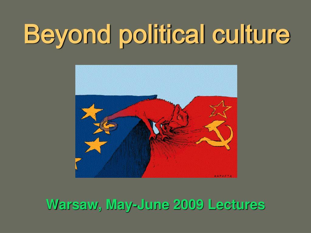 beyond political culture l.