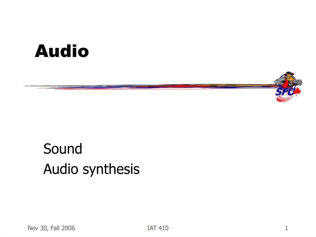 audio l.