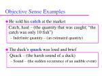 objective sense examples71