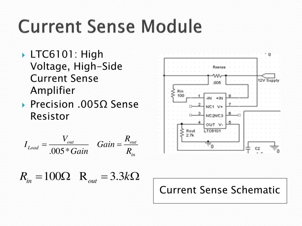 Current Sense Module