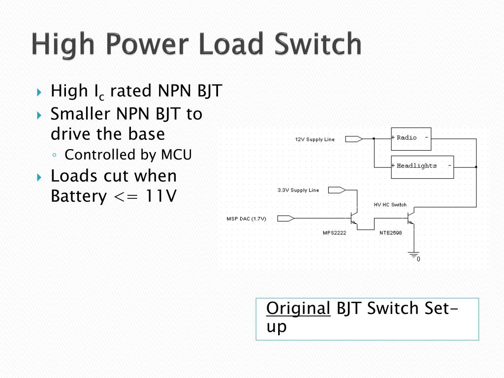 High Power Load Switch