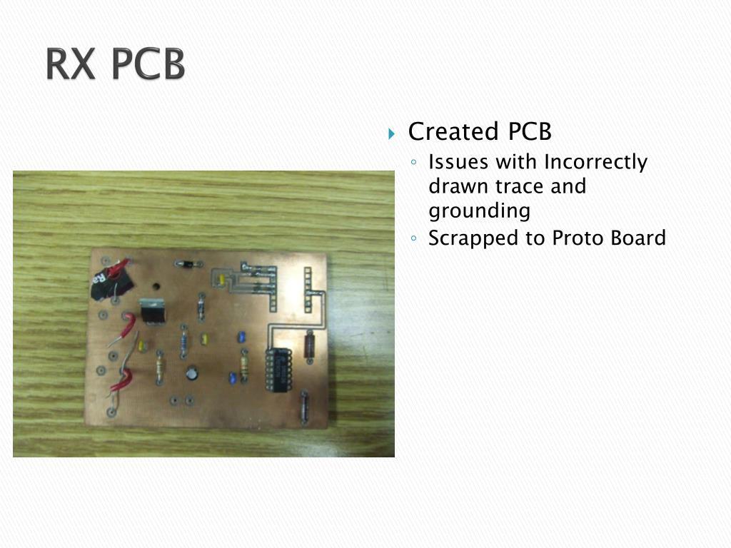 RX PCB